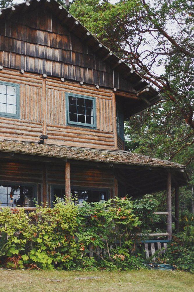 Aranżacja domów z bali